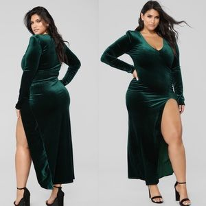 Fashion Nova plus size 'Love Sex Magic' dress